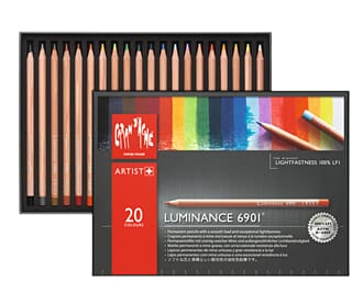 Caran d'ache: Luminance Colour Pencils, 20/Pkg