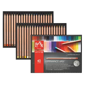 Caran d'ache: Luminance Colour Pencils, 40/Pkg