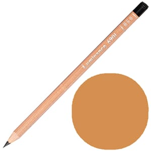 Caran d'Ache: Brown ochre 50 prosent - Luminance Single Penc