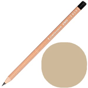 Caran d'Ache: Raw umber 10 prosent - Luminance Single Pencil