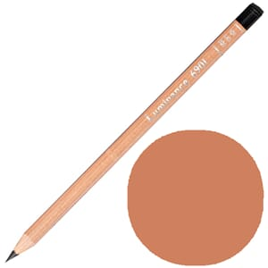 Caran d'Ache: Burnt ochre 50 prosent - Luminance Single Penc