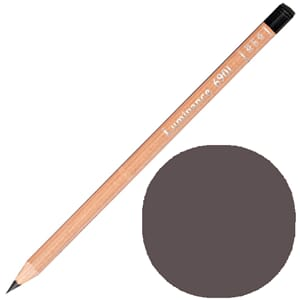 Caran d'Ache: Sepia 50 prosent - Luminance Single Pencil, 1/