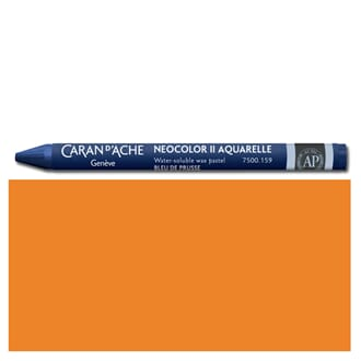 Caran d'Ache: Orange - Neocolor II, single