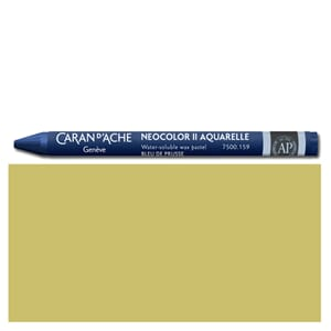 Caran d'Ache: Golden ochre - Neocolor II, single