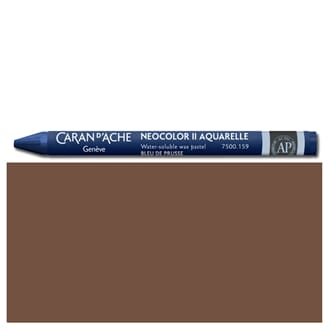 Caran d'Ache: Brown - Neocolor II, single