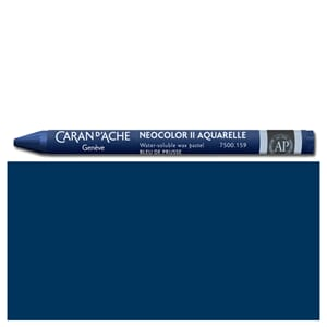 Caran d'Ache: Indigo blue - Neocolor II, single