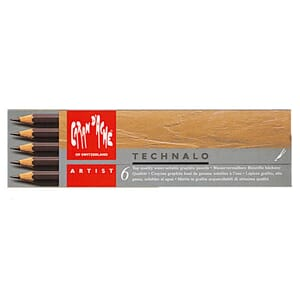 Caran d'ache: Technalo Pencils, 6/Pkg