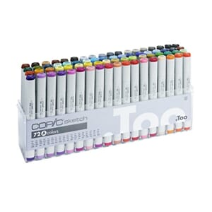 Copics Sketch - Set A, 72/Pkg