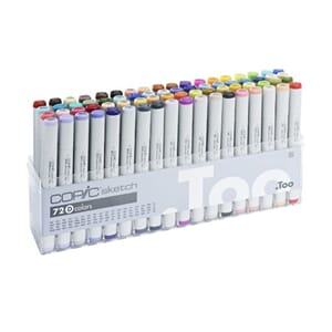 Copics Sketch - Set D, 72/Pkg