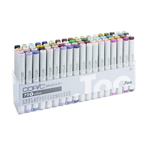 Copics Sketch - Set E, 72/Pkg