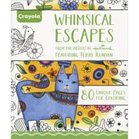 Crayola: Whimsical Escapes Coloring Book