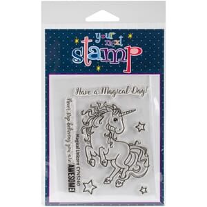 Your Next Stamps: Magical Unicorn - Clear Stamps, 4x3