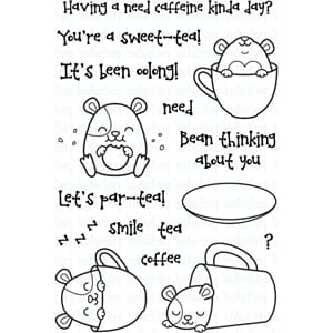 Your Next Stamp: Hammie Coffee & Tea Clear Stamps, 4x6