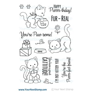 Your Next Stamp: Jessica's Kitten Clear Stamps