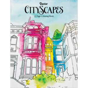 Darice: CityScapes Coloring Book