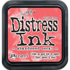 Tim Holtz: Abandoned Coral - Distress Ink Pad