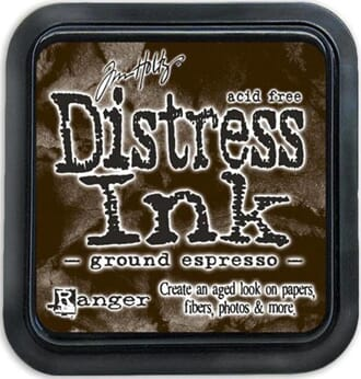 Tim Holtz: Ground Espresso - Distress Ink Pad
