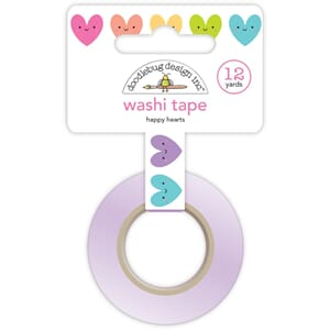 Doodlebug: Happy Hearts - Fairy Tales Washi Tape