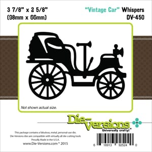 Die-Versions: Vintage Car - Whispers Die