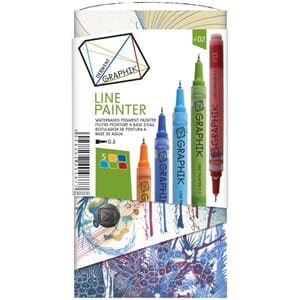 Derwent: Graphik Line Painter Set 2, 5/Pkg