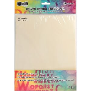 Dylusions: Mixed Media Cardstock 10/Pkg