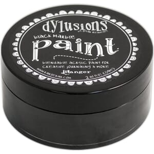 Dylusions: Black Marble - Dylusions Paint, 59 ml