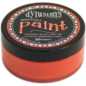 Dylusions: Postbox Red - Dylusions Paint, 59 ml