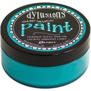 Dylusions: Vibrant Turquoise - Dylusions Paint, 59 ml