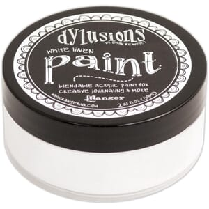 Dylusions: White Linen - Dylusions Paint, 59 ml