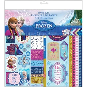 Frozen Page Kit, str 30.5x30.5 cm