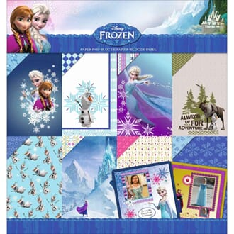 EK Success: Frozen - Disney Paper Pad, 12x12 inch