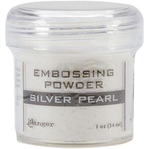 Ranger: Silver Pearl - Embossing Powder, 1 oz