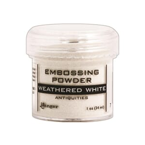 Ranger: Weathered White - Embossing powder 1oz