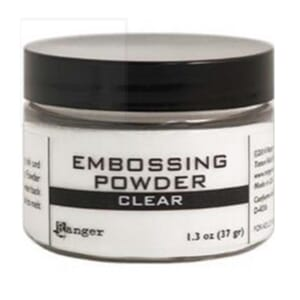 Ranger: Clear - Embossing Powder 3oz