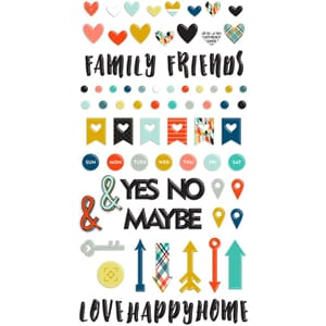 Fancy Pants: Family & Co. Puffy Stickers,