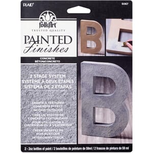 FolkArt Faux Paint Kit - Concrete