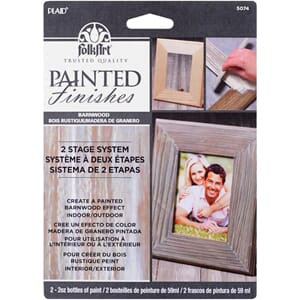 FolkArt Faux Paint Kit - Barnwood
