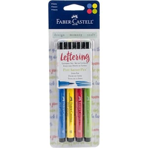 Mix & Match PITT Artist Brush Pens 4/Pkg