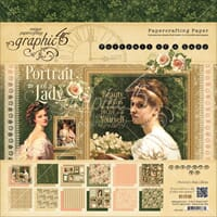 Graphic 45: Portrait Of A Lady Paper Pad, 8x8, 24/Pkg