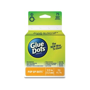 Glue Dots - Pop Up, 1/2inch på rull