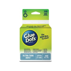 Glue Dots - Ultra-Thin Dot, 3/8inch på rull
