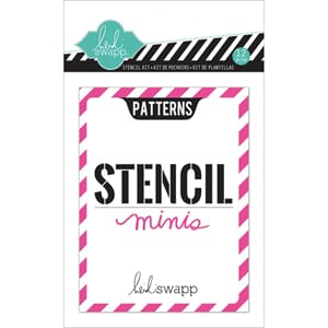 Heidi Swapp: Mini Stencil Kit 12/Pkg