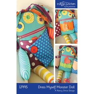 Indygo Junction: Dress Myself Monster Doll