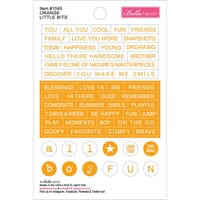 Bella Blvd: Orange - Just Add Color Little Bits Stickers