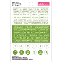 Bella Blvd: Guacamole - Just Add Color Little Bits Stickers