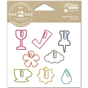 Jillibean Soup: Wine Shaped Clips 8/Pkg