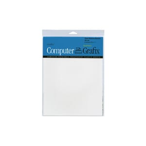Grafix Computer - Transparent printer papir, 6/Pkg