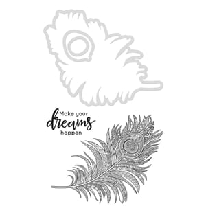 Kaisercraft: Peacock Feather - Dies & Stamps
