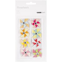 Kaisercraft: Pop! Mini Pinwheels 8/Pkg