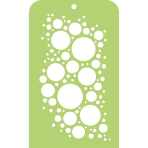 Kaisercraft: Bubbly Mini Designer Templates, 3.5x5.75 inch